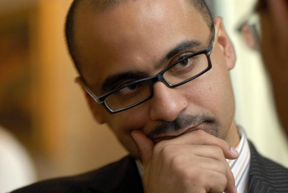 Dominican MIT professor Junot Diaz, winner of the Pulitzer Prize for his novel 'The Brief Wondrous Life of Oscar Wao'.
