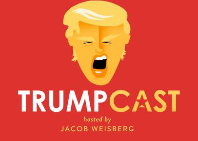 Logo for the Trumpcast podcast