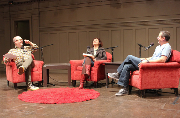 Dan Kois, Hanna Rosin and Hugh Howey.