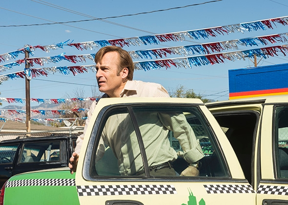 Bob Odenkirk as Jimmy McGill, Better Call Saul, Season 1, Episod