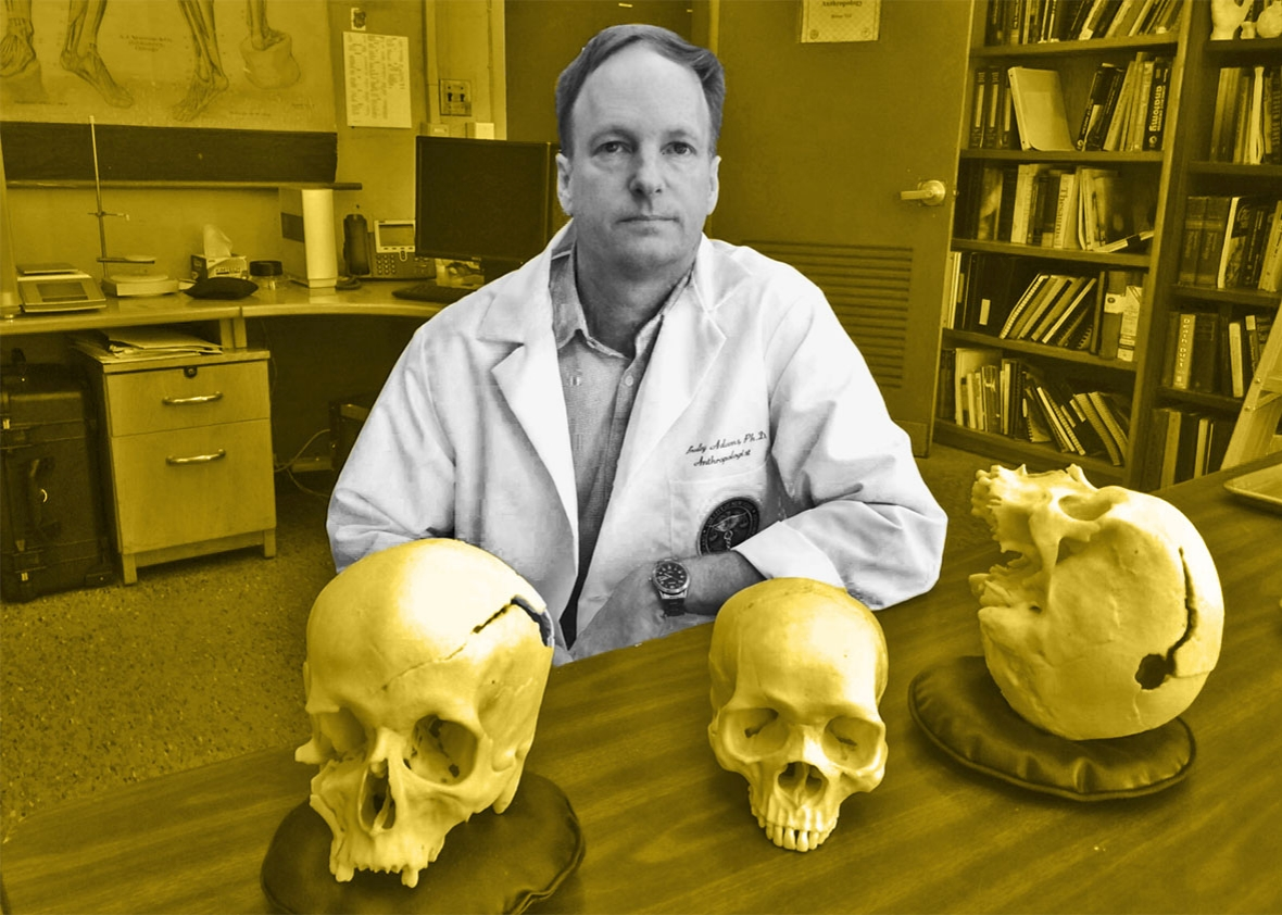 Forensic anthropologist.