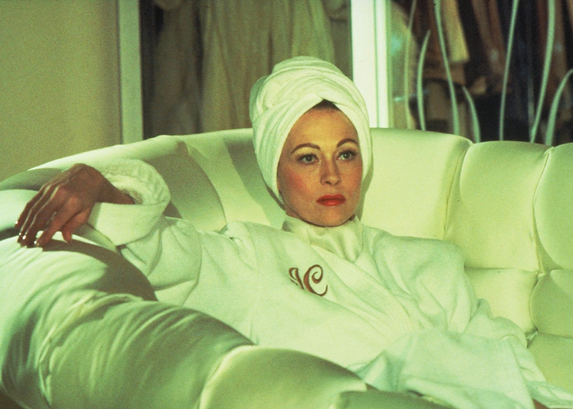 Faye Dunaway in Mommie Dearest.