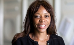 Dambisa Moyo, economist and author, attends the Hay Festival on May 29, 2011 in Hay-on-Wye, Wales.