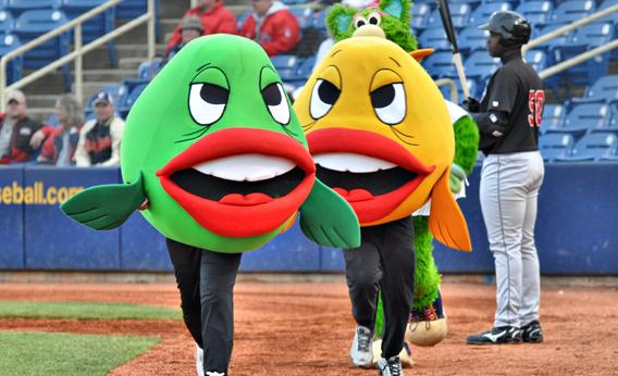 The Lake County Captains' PNC Fish Race, Eastlake, Ohio.