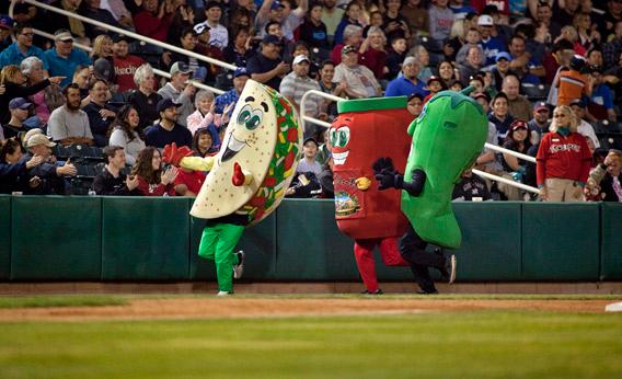 The Albuquerque Isotopes' Chile Pepper Race, Albuquerque, N.M.