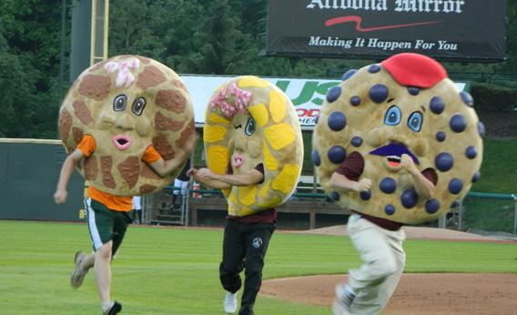 The Altoona Curve Panera Bread Bagel Race, Altoona, Pa.