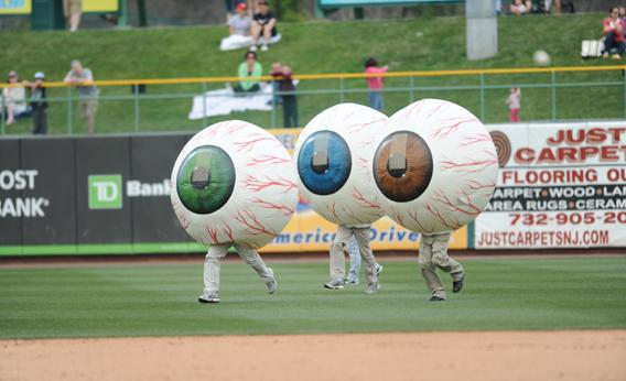 The Lakewood BlueClaws' Eyeball Race, Lakewood, N.J.