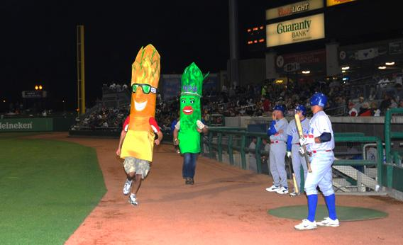 The Stockton Ports' Asparagus Race, Stockton, Calif.