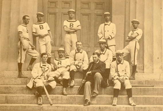 William Edward White on the 1879 Brown baseball team.
