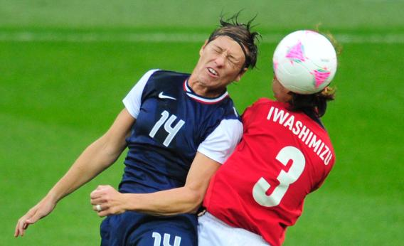 Abby Wambach Concussion How The National Women S Soccer League