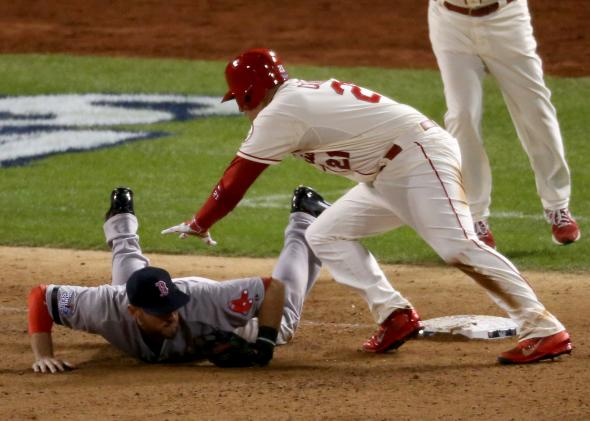 World Series obstruction: Did the umps make the right call on the