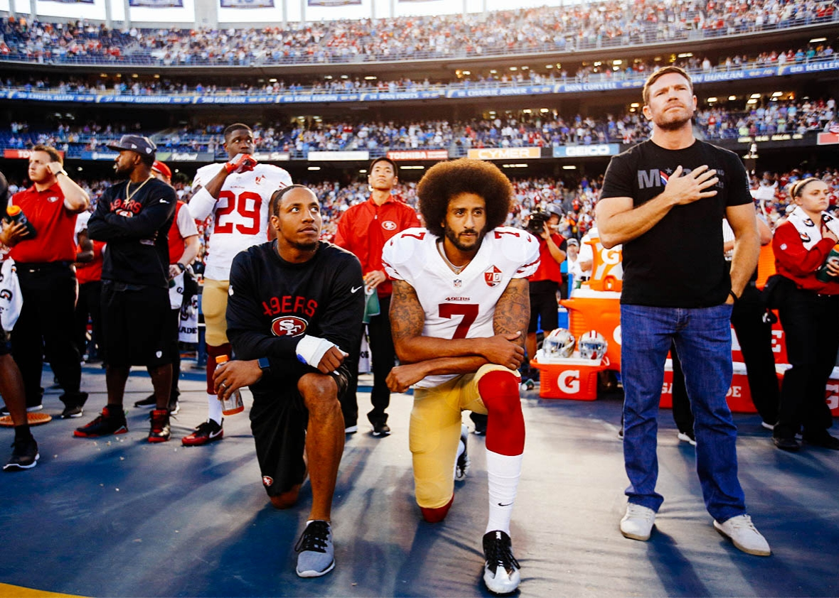 Colin Kaepernick Goes in on Sponsors Who Dropped Brandon Marshall