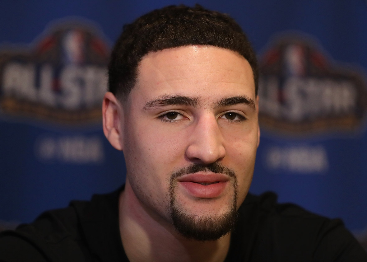 Zaza Pachulia Gave Klay Thompson A Pretty Hilarious Gift Today