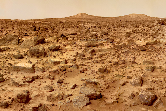Mars colonization may require Earth soil.