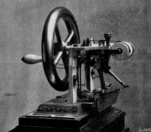 Patent Reform >> Sewing machine patent wars of the 1850s: What they tell us about the patent system.