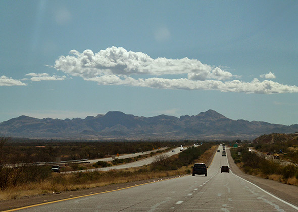 More than 60 percent of winter produce consumed in the United States passes through this stretch of Interstate 19 between the border town of Nogales and Tucson.