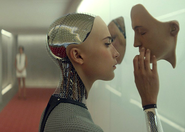 Alicia Vikander en Ex-Machina