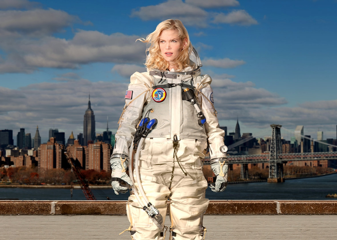 Creating sexier spacesuits for the commercial space race for Female space suit