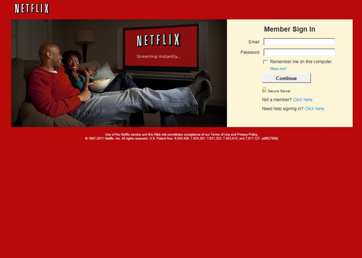 netflix sign in.