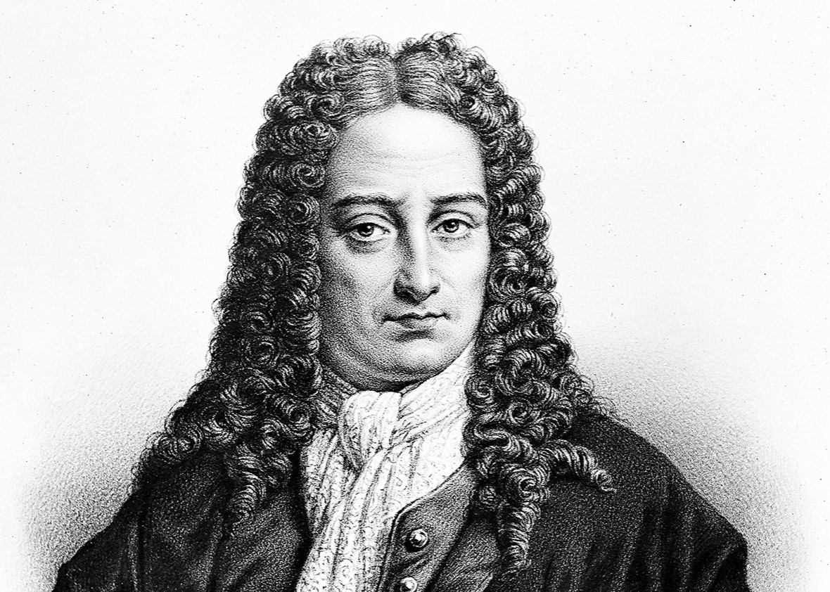 Gottfried Wilhelm Leibniz (1646-1716), German philosopher and mathematician.