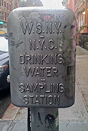 Water Sampling Station, East Village.