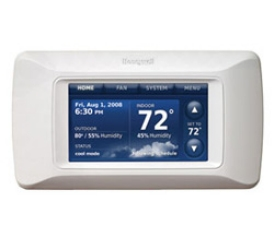 Honeywell Prestige Thermostat.
