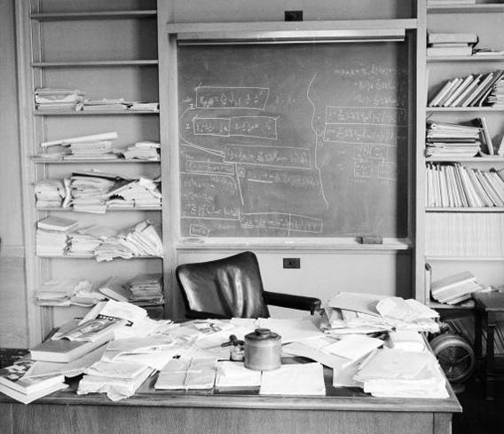 Albert Einstein's office.