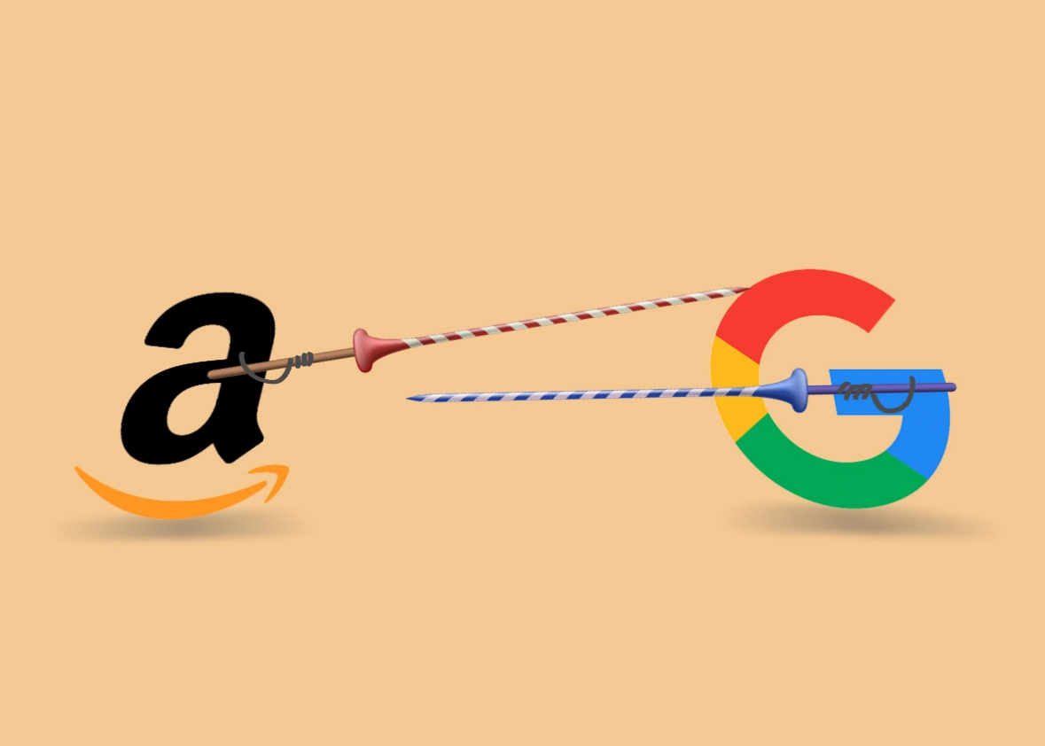 Amazon vs. Google row leaves customers in the cold