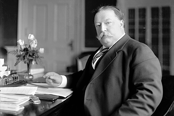 President William Howard Taft.