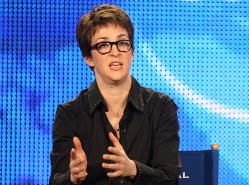 Rachel Maddow host of 'The Rachel Maddow Show.'