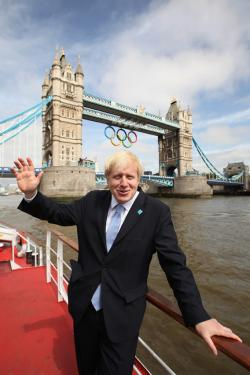 Mayor of London Boris Johnson.