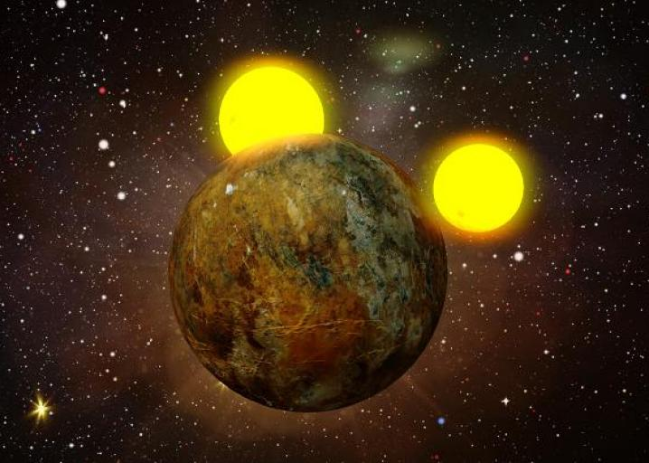 "Planet with two suns: The ""real-life"" Tatooine from Star ..."