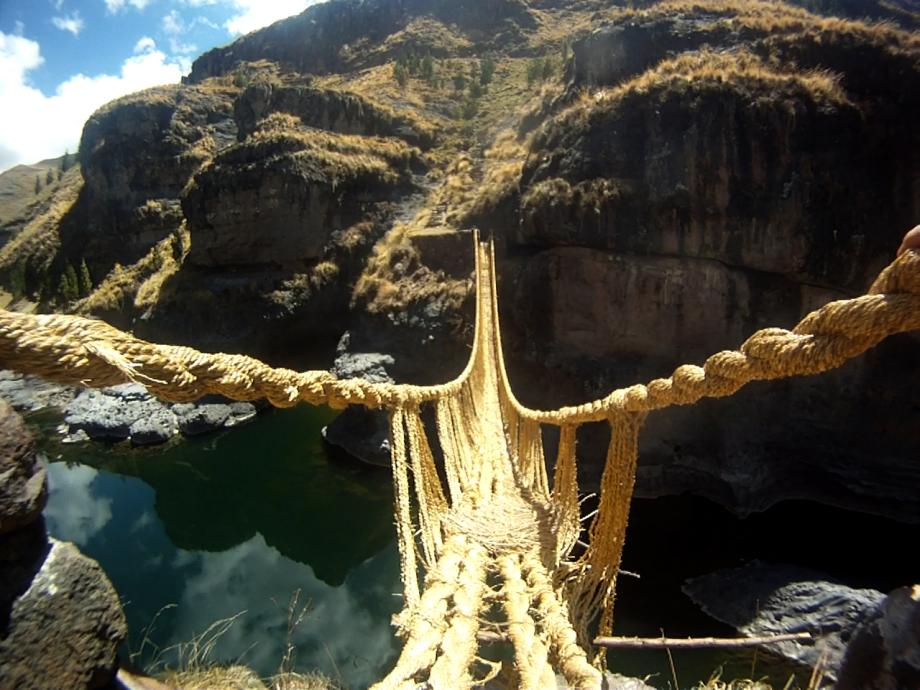 inca rope bridge -#main