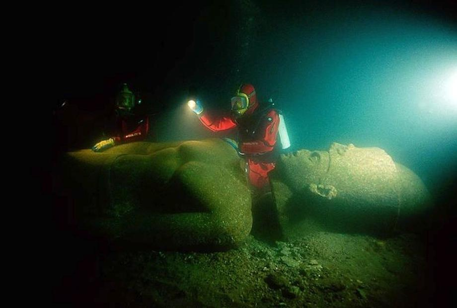 An ancient city thought lost is exhumed from the depths of the ocean
