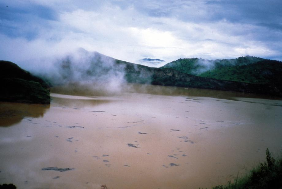 Lake Nyos killed 1,746 when it released a huge pocket of CO2