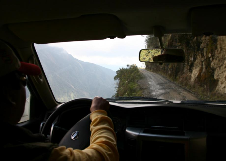 A Terrifying Tour Of The World S Most Dangerous Road