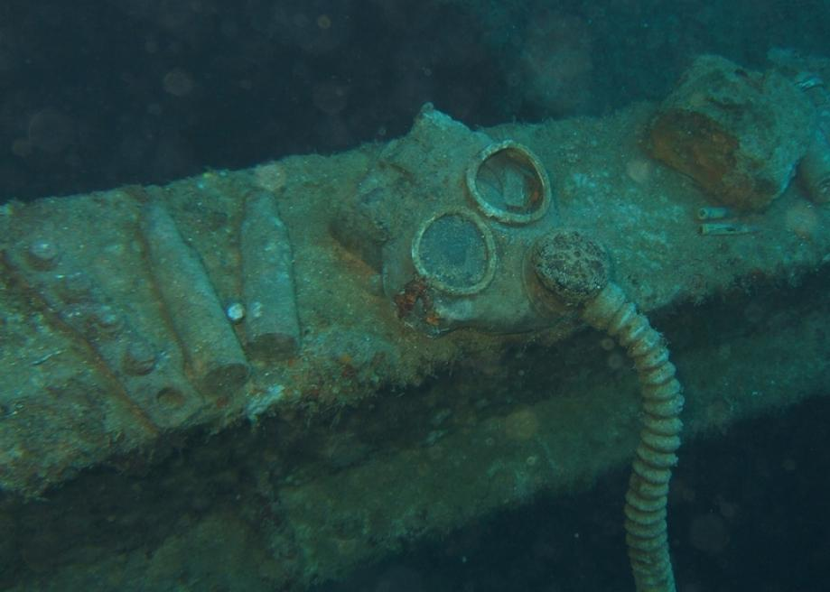 Chuuk (Truk) Lagoon is filled with the remains of Japanese World War
