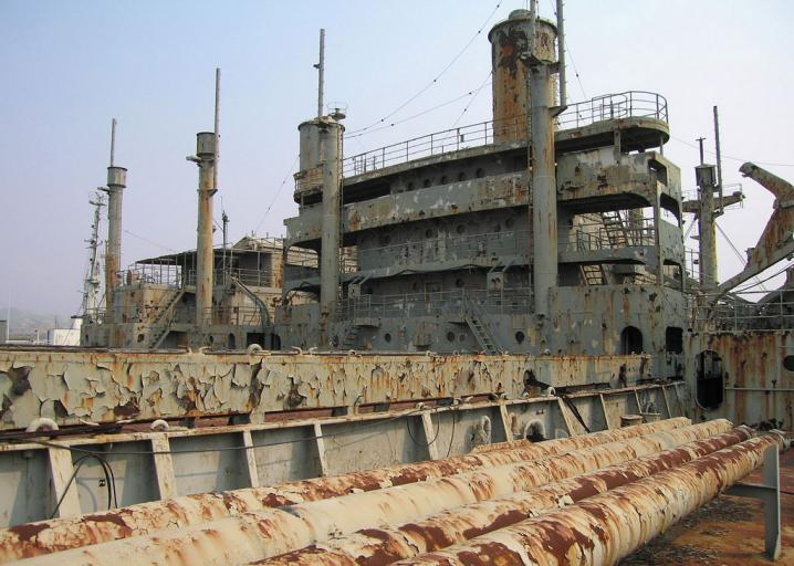 The Mothball Fleet: Aboard the dying ghost ships of Suisun Bay