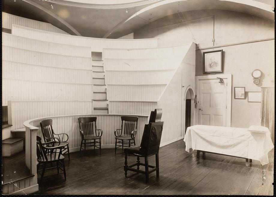 The Ether Dome at Massachusetts General Hospital, where surgical