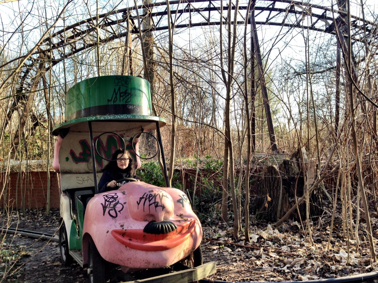 Spreepark In Berlin Is An Abandoned Theme Park With An