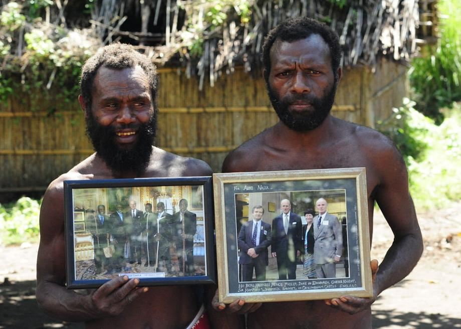 The Cargo Cults of Tanna worship an American WWII soldier and ...