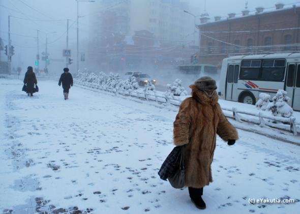 Yakutsk Siberia Surviving Winter In The Worlds Coldest City