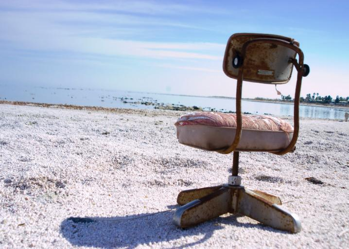 The Salton Sea in California turned from a relaxing resort