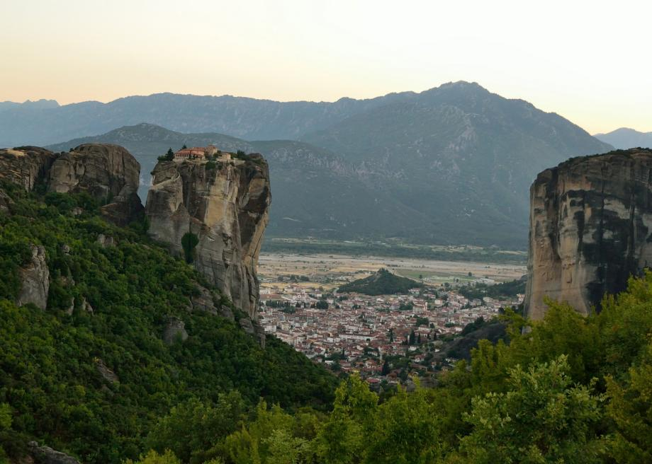 Meteora In Greece Is Home To Six Marvelous Mountaintop Monasteries