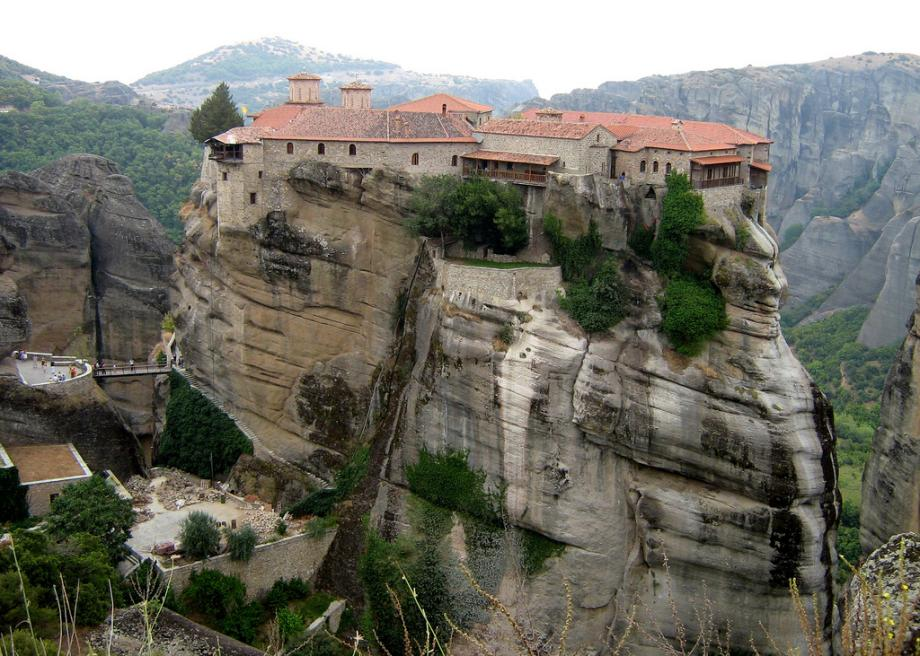 Meteora in Greece is home to six marvelous mountaintop ...