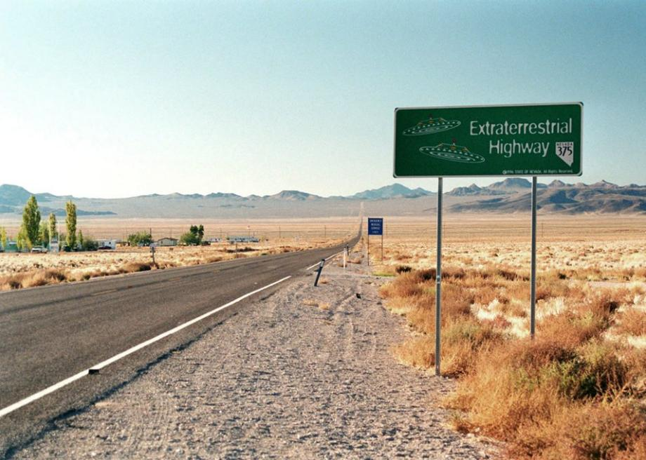 The Black Mailbox Of Area 51 In Nevada Is Used To Communicate With