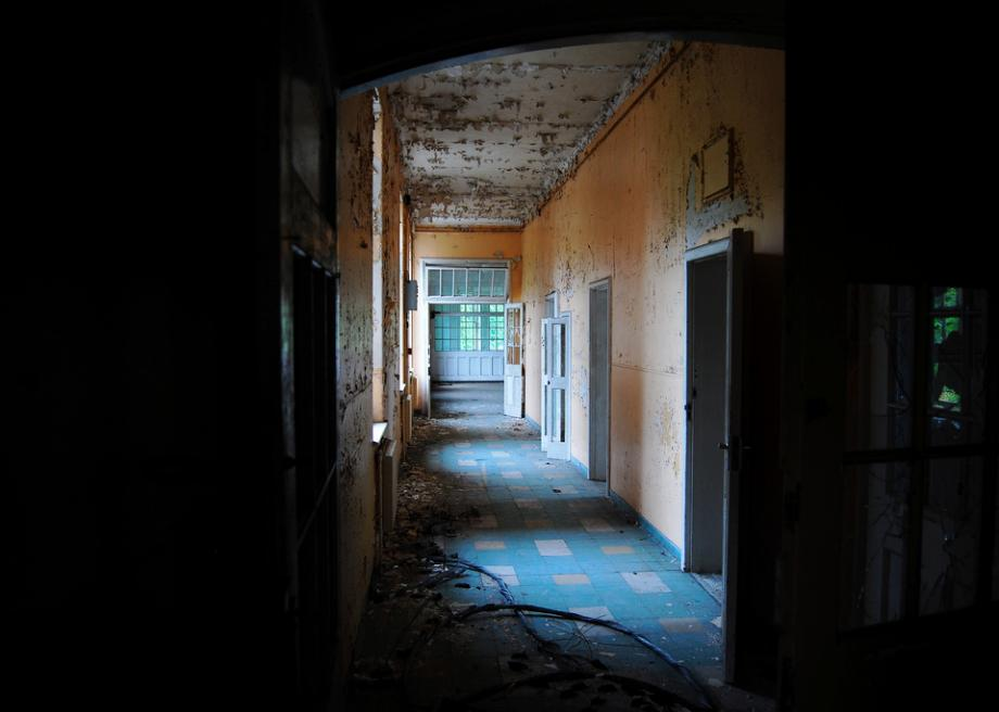 severalls hospital is an abandoned mental institution in