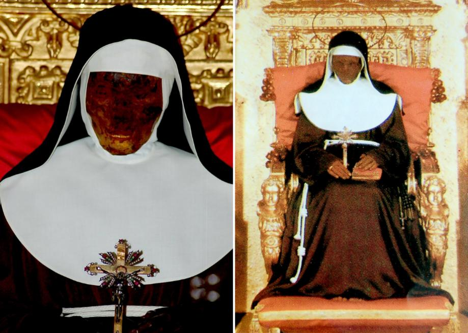 Image result for mummified nun in bologna
