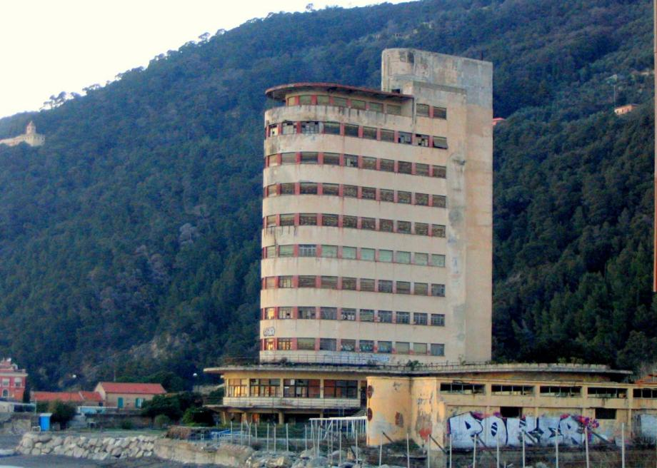 Colonia Fara in Chiavari, Italy, is an abandoned Fascist Youth camp