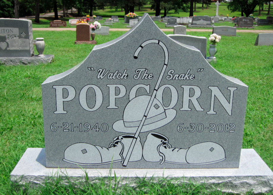 Quirky Cemeteries For Pets Circus Performers And Granite